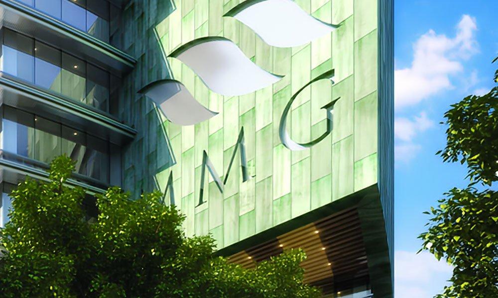 Edificio MMG ejemplo de certificaciones de paneles sandwich ecológicos